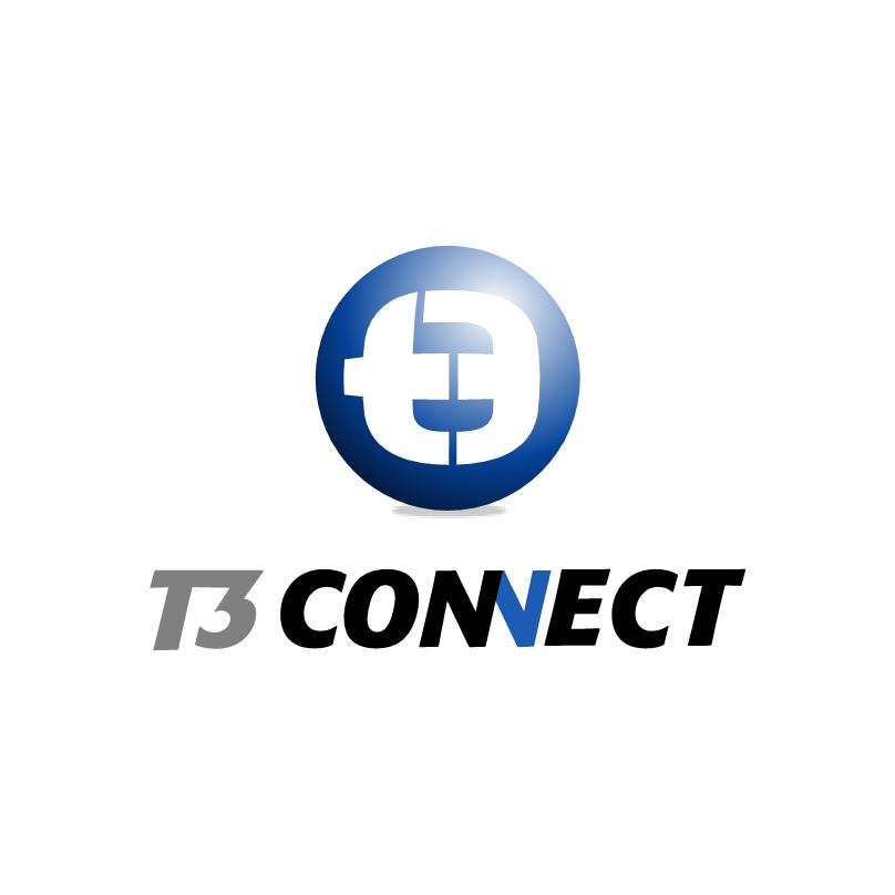 Logo Design by luvrenz - Entry No. 48 in the Logo Design Contest T3 CONNECT Sports Marketing logo.