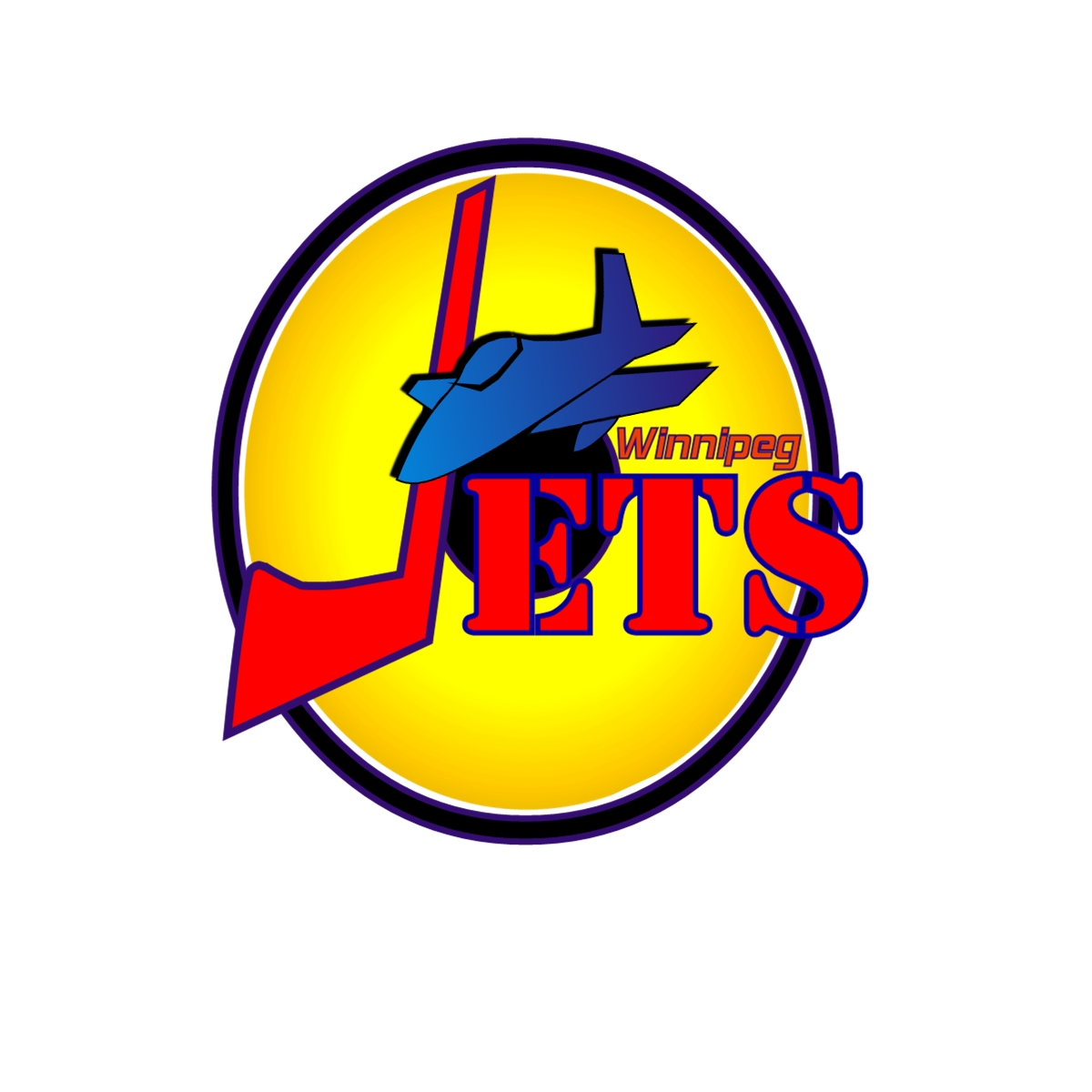 Logo Design by Joseph calunsag Cagaanan - Entry No. 21 in the Logo Design Contest Winnipeg Jets Logo Design Contest.