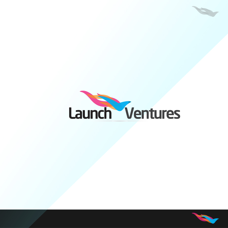 Logo Design by rockpinoy - Entry No. 169 in the Logo Design Contest Launch Ventures.