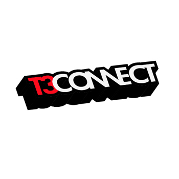 Logo Design by Alvin Gilbert Gonda - Entry No. 57 in the Logo Design Contest T3 CONNECT Sports Marketing logo.