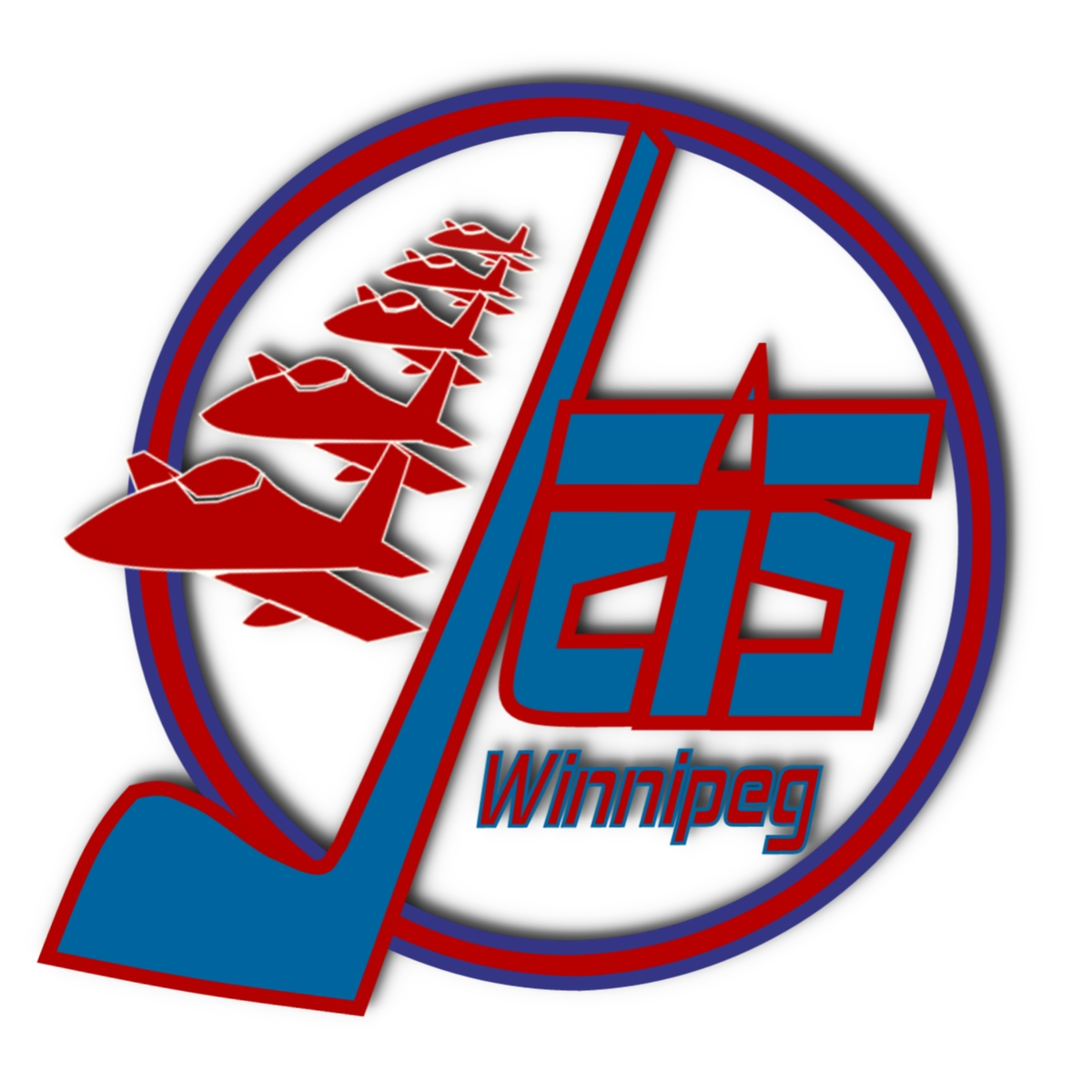 Logo Design by Joseph calunsag Cagaanan - Entry No. 33 in the Logo Design Contest Winnipeg Jets Logo Design Contest.