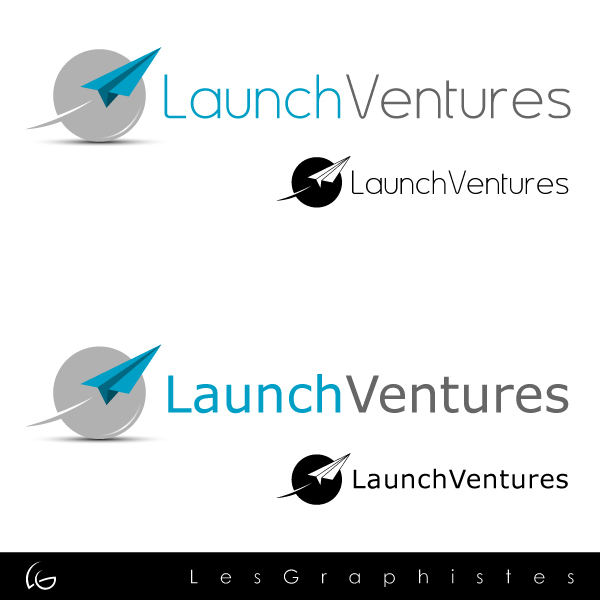 Logo Design by Les-Graphistes - Entry No. 202 in the Logo Design Contest Launch Ventures.