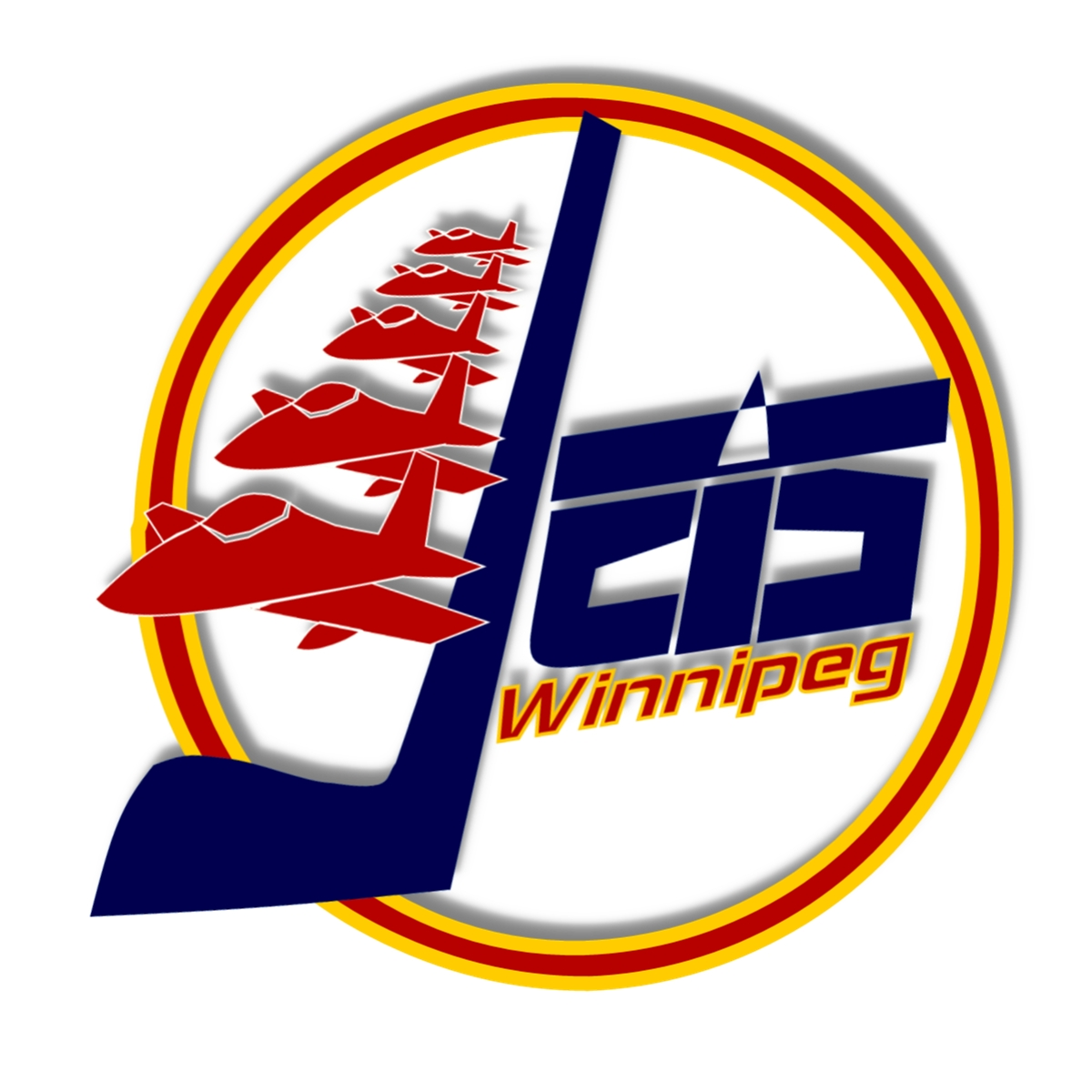 Logo Design by Joseph calunsag Cagaanan - Entry No. 34 in the Logo Design Contest Winnipeg Jets Logo Design Contest.