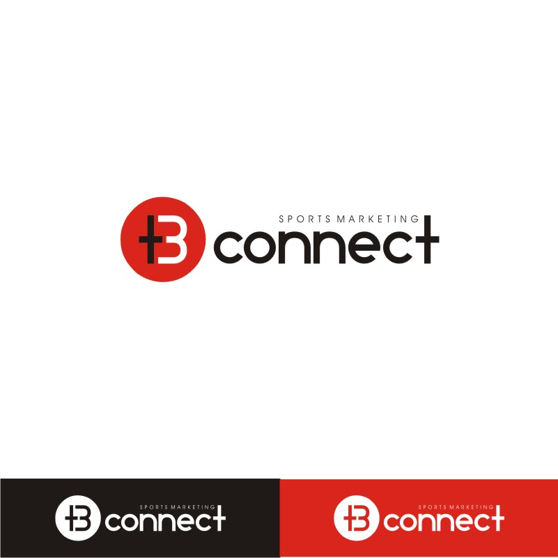 Logo Design by Private User - Entry No. 65 in the Logo Design Contest T3 CONNECT Sports Marketing logo.