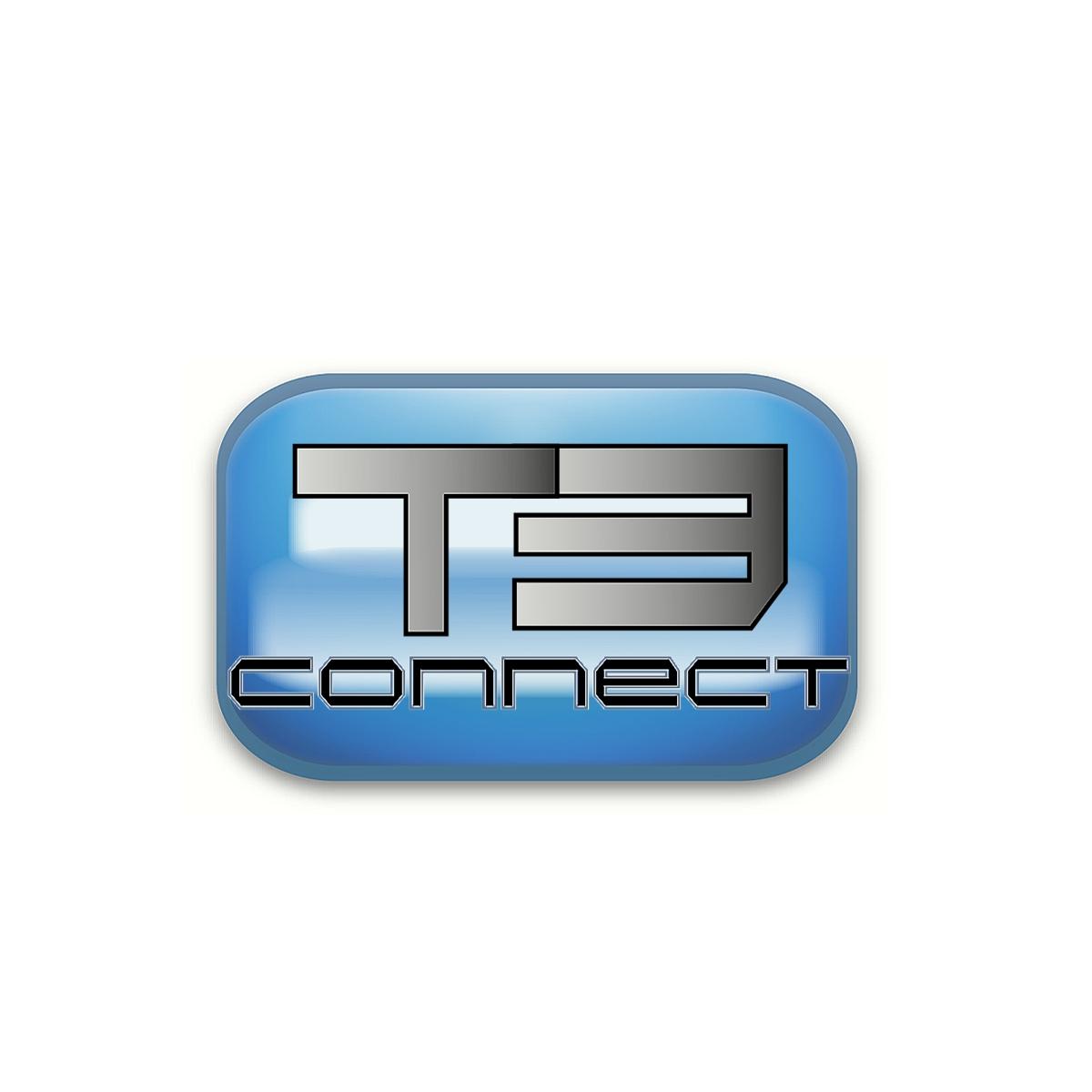 Logo Design by Joseph calunsag Cagaanan - Entry No. 70 in the Logo Design Contest T3 CONNECT Sports Marketing logo.