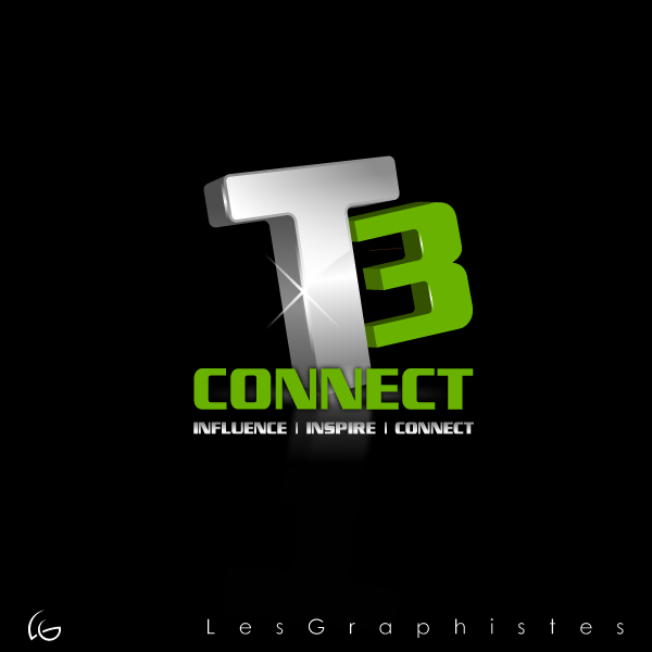 Logo Design by Les-Graphistes - Entry No. 74 in the Logo Design Contest T3 CONNECT Sports Marketing logo.