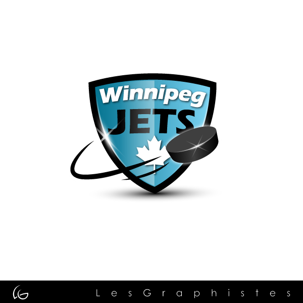 Logo Design by Les-Graphistes - Entry No. 39 in the Logo Design Contest Winnipeg Jets Logo Design Contest.