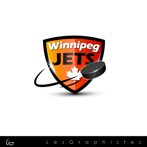 Logo Design by Les-Graphistes - Entry No. 40 in the Logo Design Contest Winnipeg Jets Logo Design Contest.