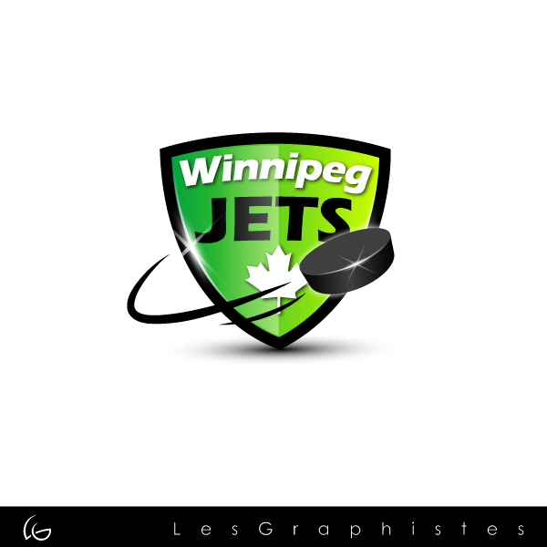 Logo Design by Les-Graphistes - Entry No. 41 in the Logo Design Contest Winnipeg Jets Logo Design Contest.