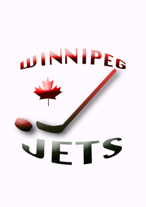 Logo Design by Kirsty Sahota - Entry No. 44 in the Logo Design Contest Winnipeg Jets Logo Design Contest.
