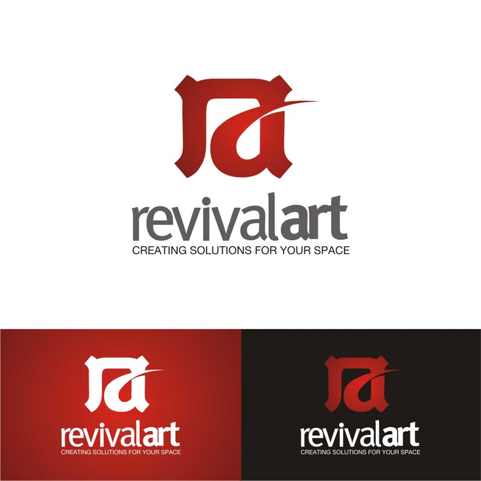 Logo Design by flashsan - Entry No. 64 in the Logo Design Contest Revival Art.