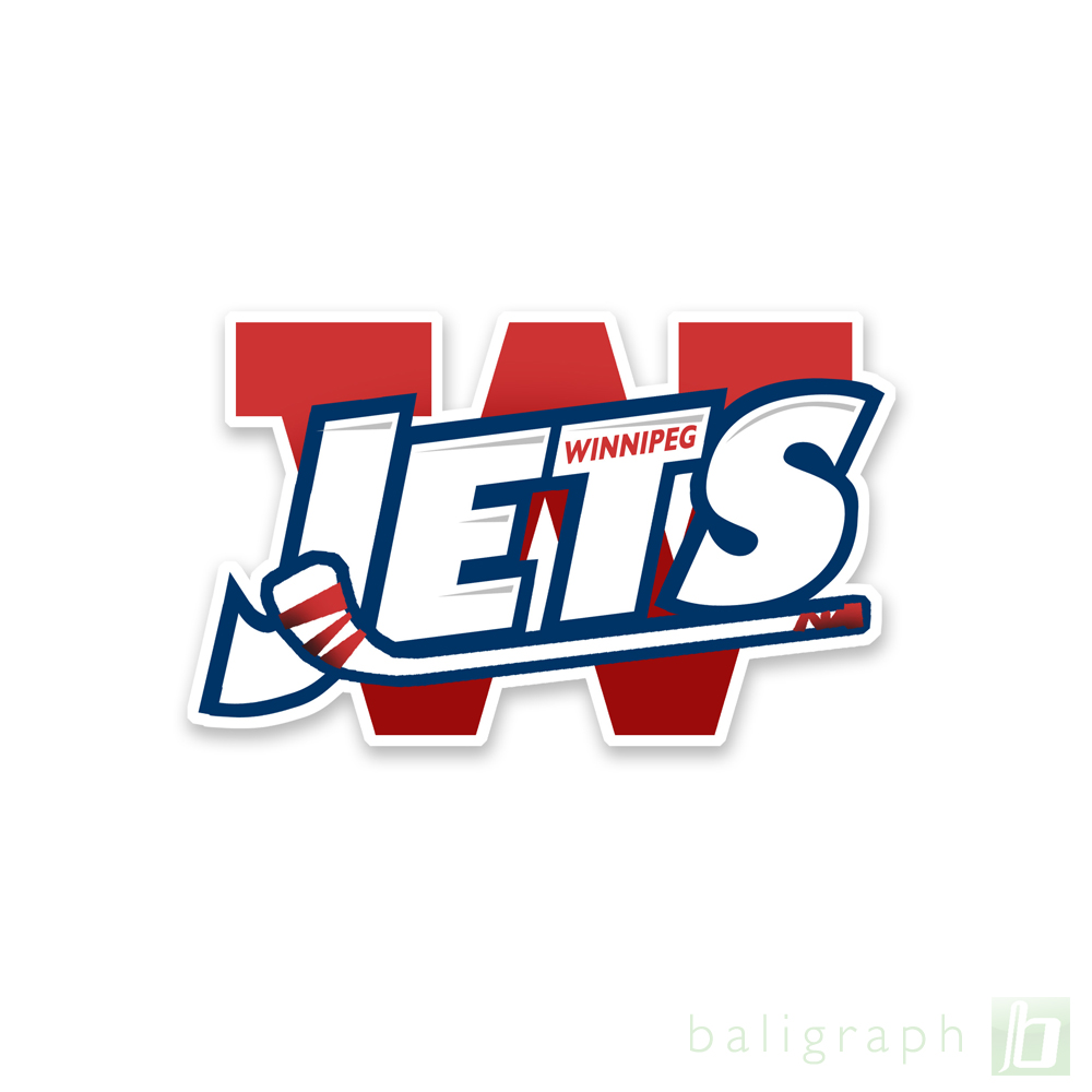 Logo Design by baligraph - Entry No. 46 in the Logo Design Contest Winnipeg Jets Logo Design Contest.