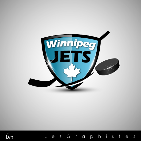 Logo Design by Les-Graphistes - Entry No. 47 in the Logo Design Contest Winnipeg Jets Logo Design Contest.