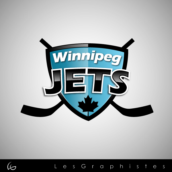Logo Design by Les-Graphistes - Entry No. 49 in the Logo Design Contest Winnipeg Jets Logo Design Contest.