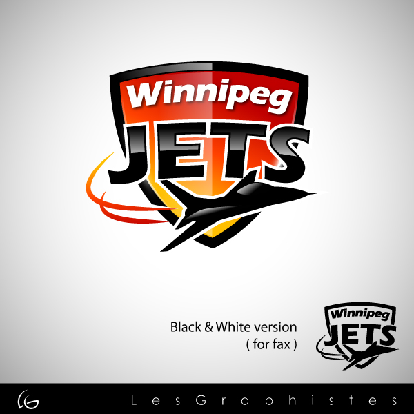 Logo Design by Les-Graphistes - Entry No. 58 in the Logo Design Contest Winnipeg Jets Logo Design Contest.