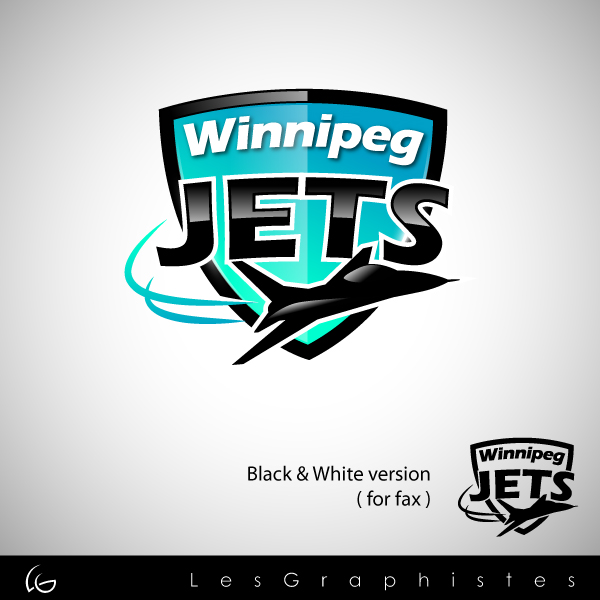 Logo Design by Les-Graphistes - Entry No. 59 in the Logo Design Contest Winnipeg Jets Logo Design Contest.