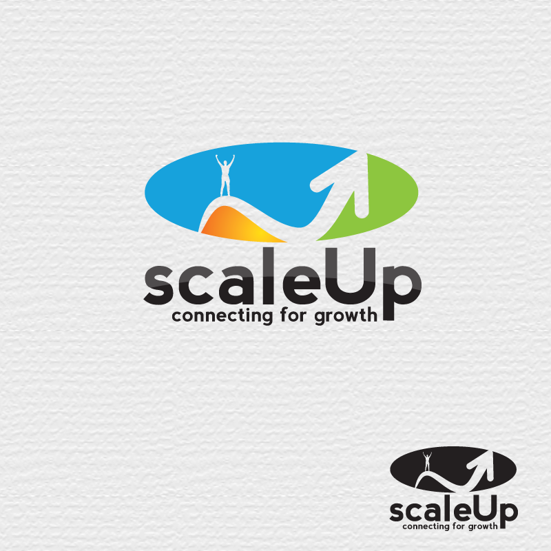 Logo Design by storm - Entry No. 4 in the Logo Design Contest Logo Design for scaleUp a consulting & event management company.