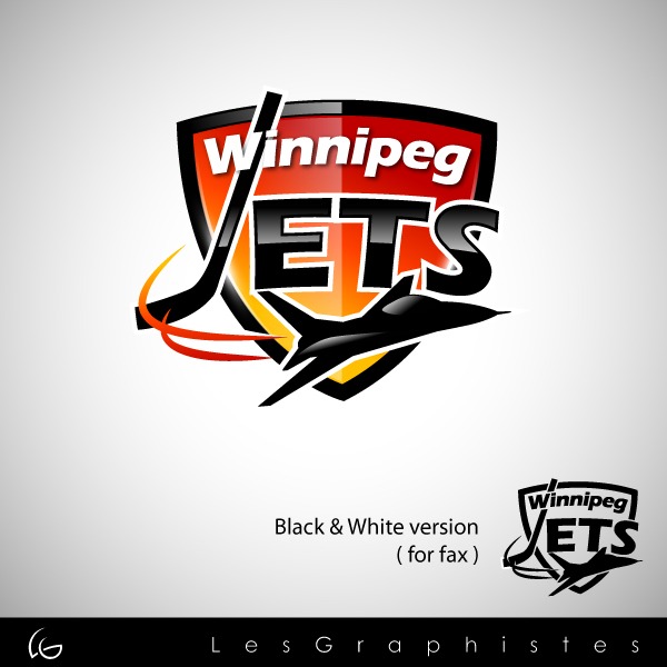 Logo Design by Les-Graphistes - Entry No. 62 in the Logo Design Contest Winnipeg Jets Logo Design Contest.