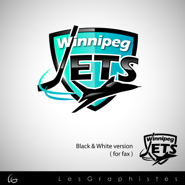 Logo Design by Les-Graphistes - Entry No. 63 in the Logo Design Contest Winnipeg Jets Logo Design Contest.