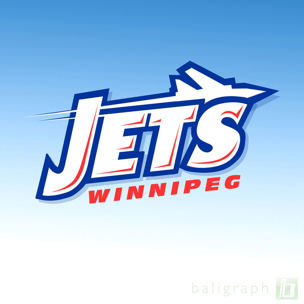 Logo Design by baligraph - Entry No. 70 in the Logo Design Contest Winnipeg Jets Logo Design Contest.