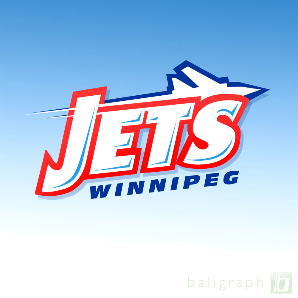 Logo Design by baligraph - Entry No. 72 in the Logo Design Contest Winnipeg Jets Logo Design Contest.
