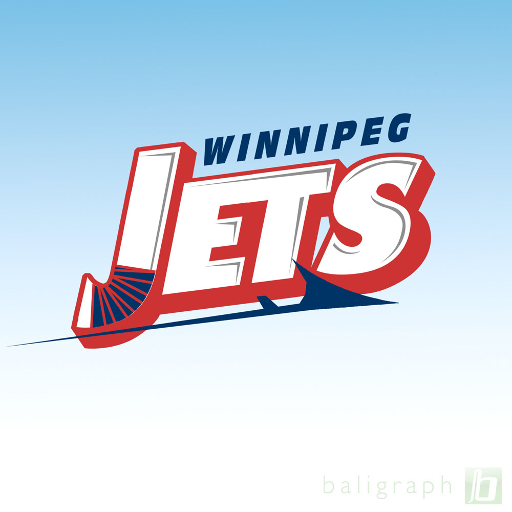 Logo Design by baligraph - Entry No. 81 in the Logo Design Contest Winnipeg Jets Logo Design Contest.