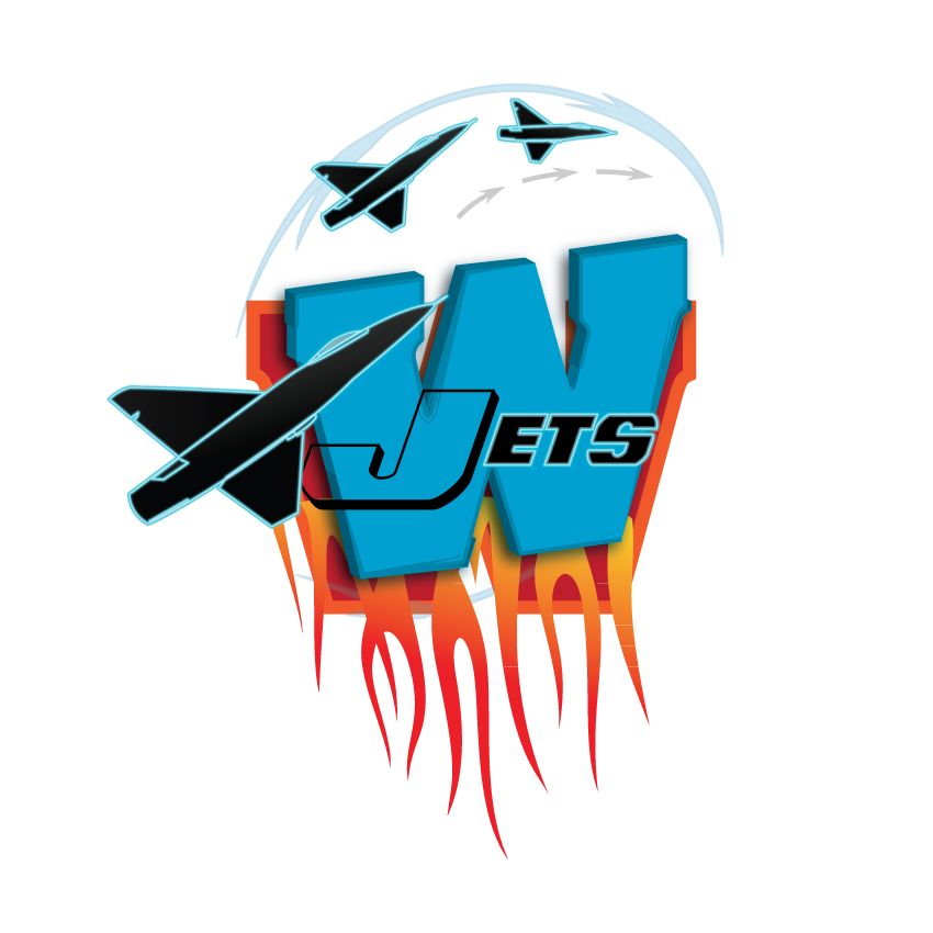 Logo Design by Private User - Entry No. 87 in the Logo Design Contest Winnipeg Jets Logo Design Contest.