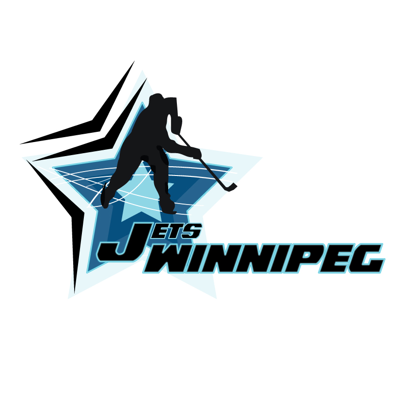 Logo Design by Private User - Entry No. 90 in the Logo Design Contest Winnipeg Jets Logo Design Contest.