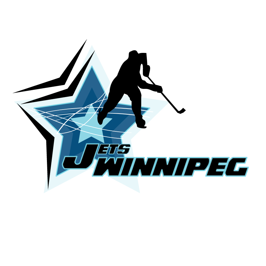 Logo Design by Private User - Entry No. 91 in the Logo Design Contest Winnipeg Jets Logo Design Contest.