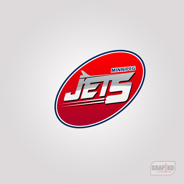 Logo Design by carell - Entry No. 93 in the Logo Design Contest Winnipeg Jets Logo Design Contest.