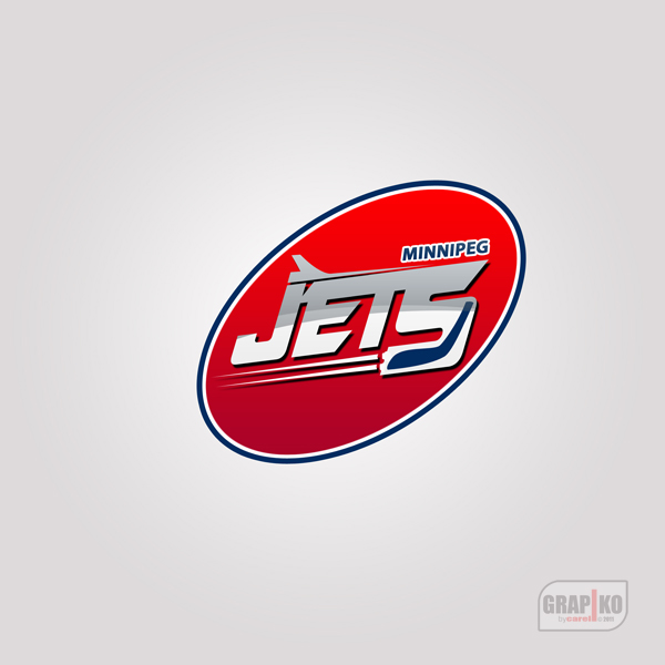 Logo Design by carell - Entry No. 94 in the Logo Design Contest Winnipeg Jets Logo Design Contest.