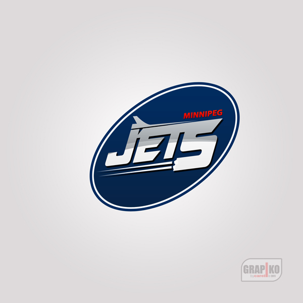 Logo Design by carell - Entry No. 95 in the Logo Design Contest Winnipeg Jets Logo Design Contest.