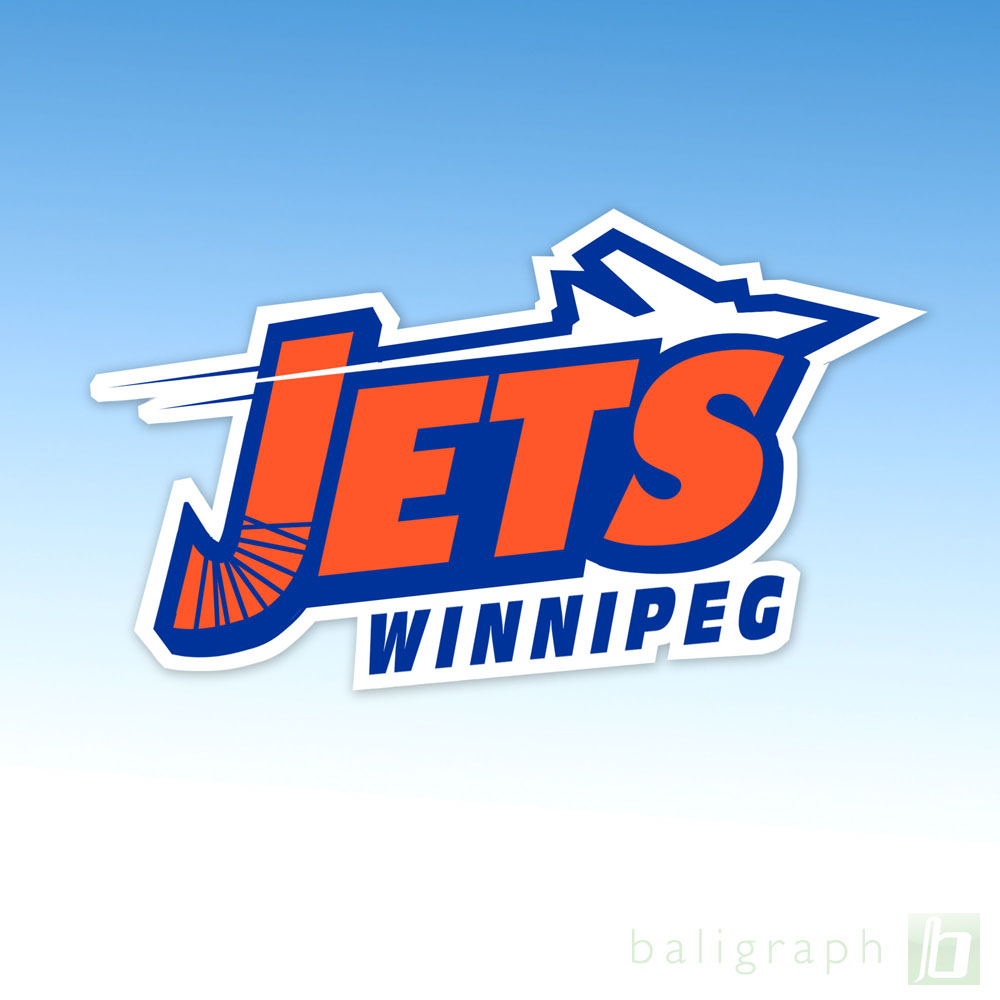 Logo Design by baligraph - Entry No. 102 in the Logo Design Contest Winnipeg Jets Logo Design Contest.