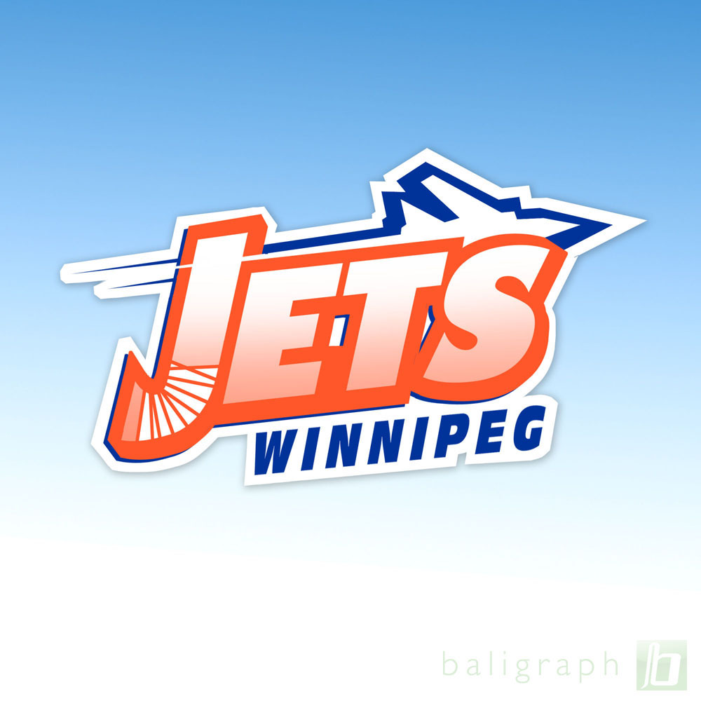 Logo Design by baligraph - Entry No. 103 in the Logo Design Contest Winnipeg Jets Logo Design Contest.