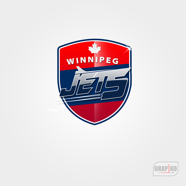 Logo Design by carell - Entry No. 108 in the Logo Design Contest Winnipeg Jets Logo Design Contest.