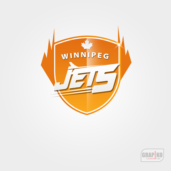Logo Design by carell - Entry No. 111 in the Logo Design Contest Winnipeg Jets Logo Design Contest.