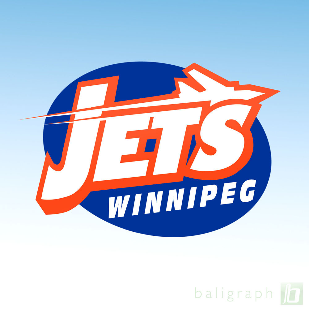 Logo Design by baligraph - Entry No. 112 in the Logo Design Contest Winnipeg Jets Logo Design Contest.