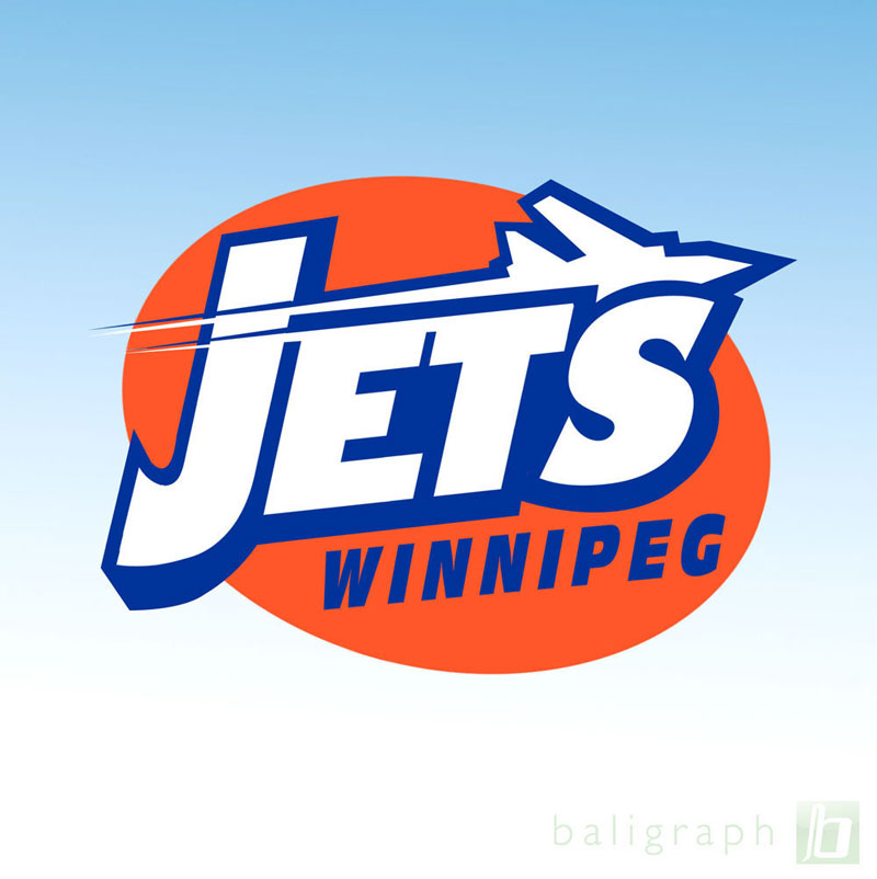 Logo Design by baligraph - Entry No. 115 in the Logo Design Contest Winnipeg Jets Logo Design Contest.