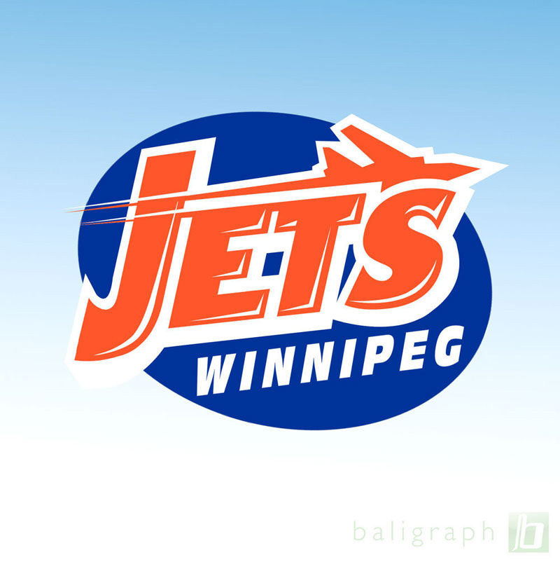 Logo Design by baligraph - Entry No. 116 in the Logo Design Contest Winnipeg Jets Logo Design Contest.