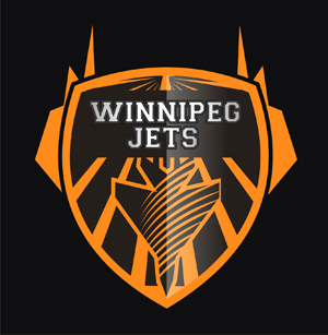 Logo Design by lestari - Entry No. 127 in the Logo Design Contest Winnipeg Jets Logo Design Contest.