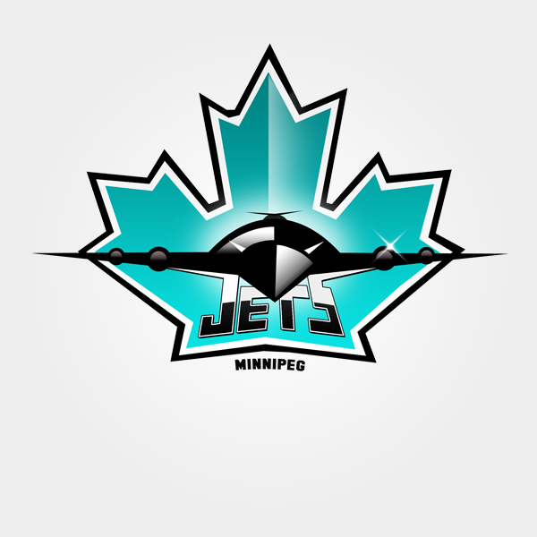 Logo Design by carell - Entry No. 128 in the Logo Design Contest Winnipeg Jets Logo Design Contest.