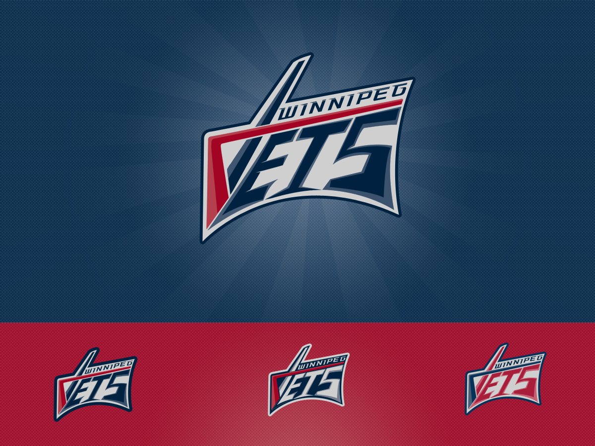 Logo Design by Private User - Entry No. 134 in the Logo Design Contest Winnipeg Jets Logo Design Contest.
