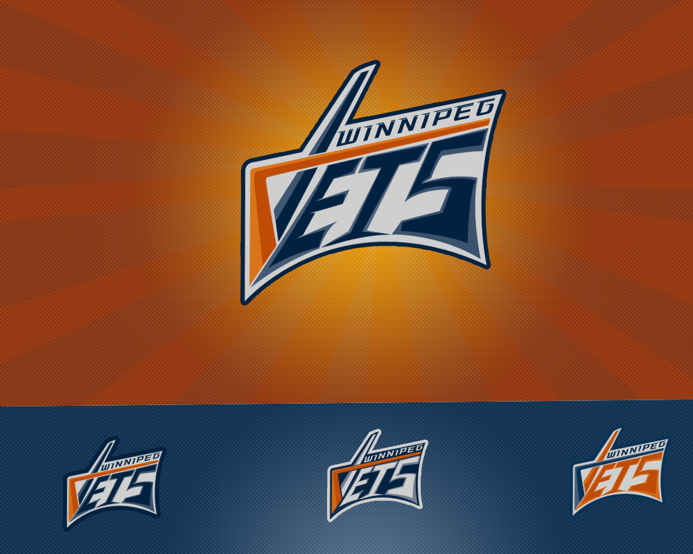 Logo Design by Private User - Entry No. 135 in the Logo Design Contest Winnipeg Jets Logo Design Contest.