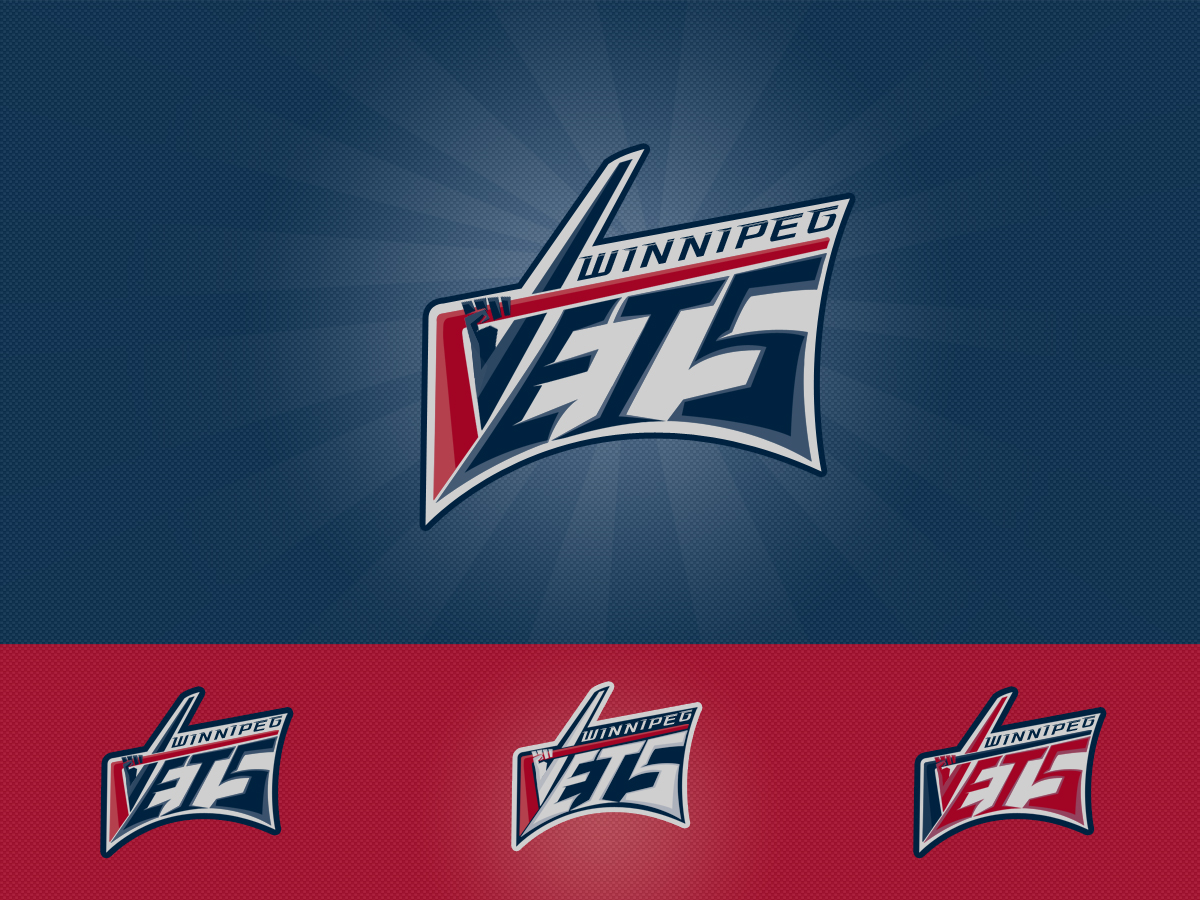 Logo Design by Private User - Entry No. 136 in the Logo Design Contest Winnipeg Jets Logo Design Contest.