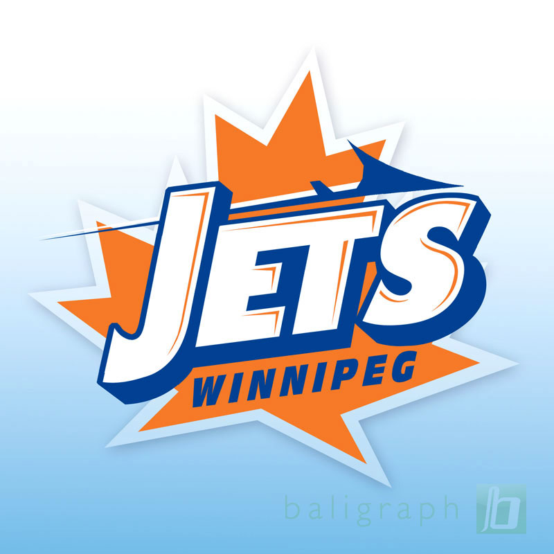 Logo Design by baligraph - Entry No. 138 in the Logo Design Contest Winnipeg Jets Logo Design Contest.