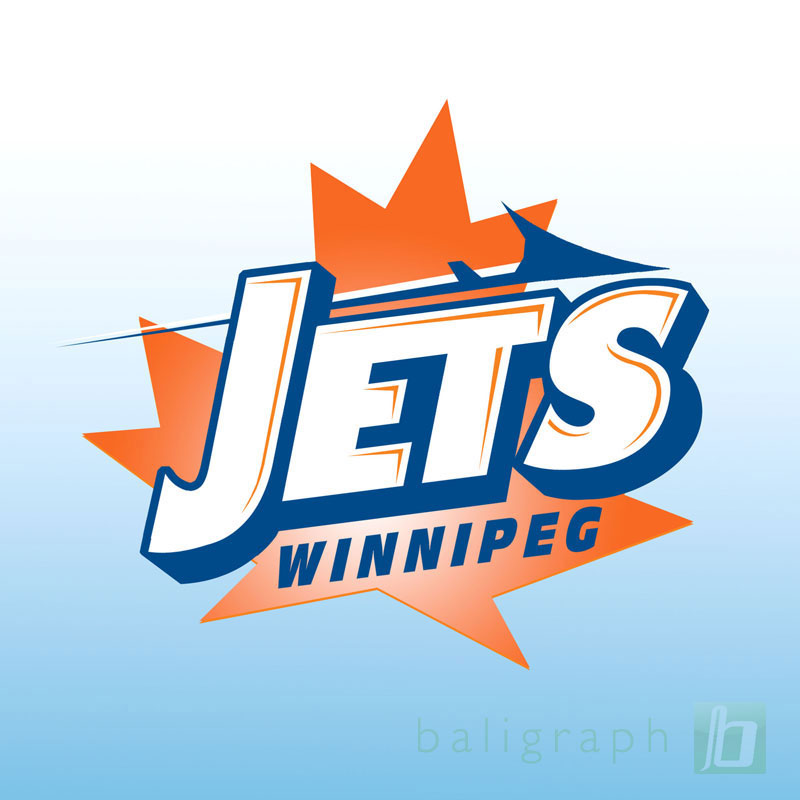 Logo Design by baligraph - Entry No. 139 in the Logo Design Contest Winnipeg Jets Logo Design Contest.