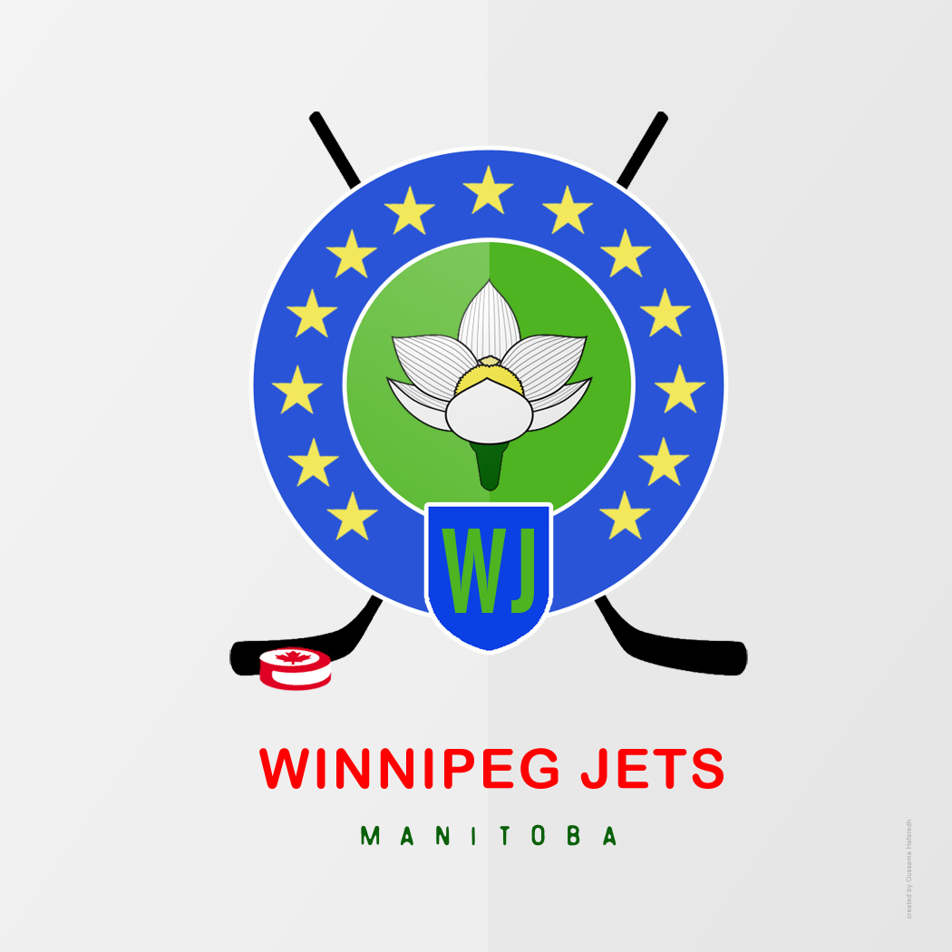 Logo Design by Oussama-Hafaiedh - Entry No. 142 in the Logo Design Contest Winnipeg Jets Logo Design Contest.