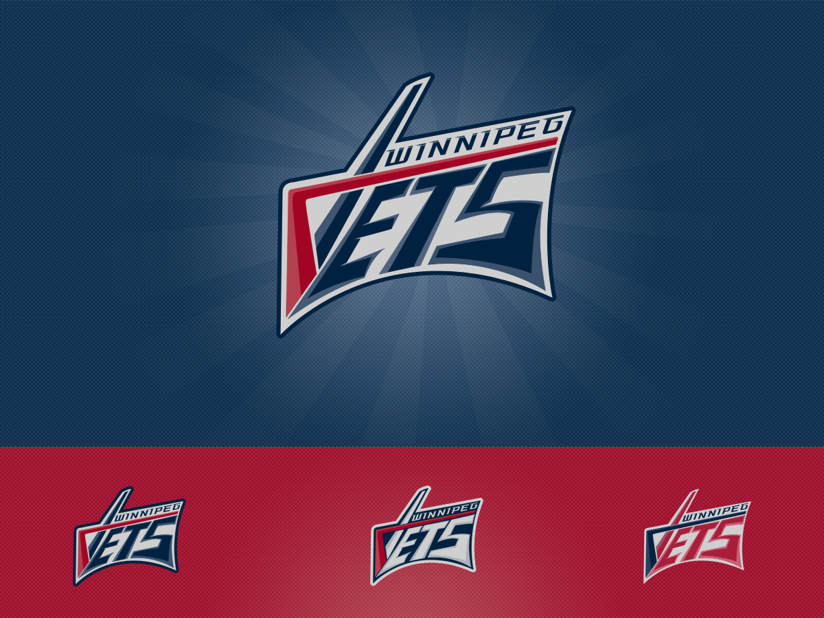 Logo Design by Private User - Entry No. 143 in the Logo Design Contest Winnipeg Jets Logo Design Contest.