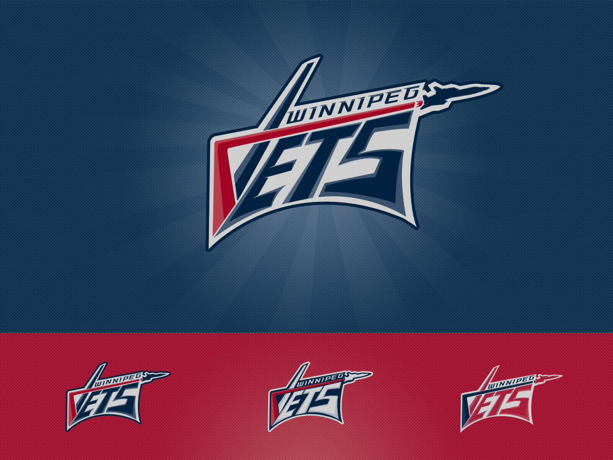 Logo Design by Private User - Entry No. 148 in the Logo Design Contest Winnipeg Jets Logo Design Contest.