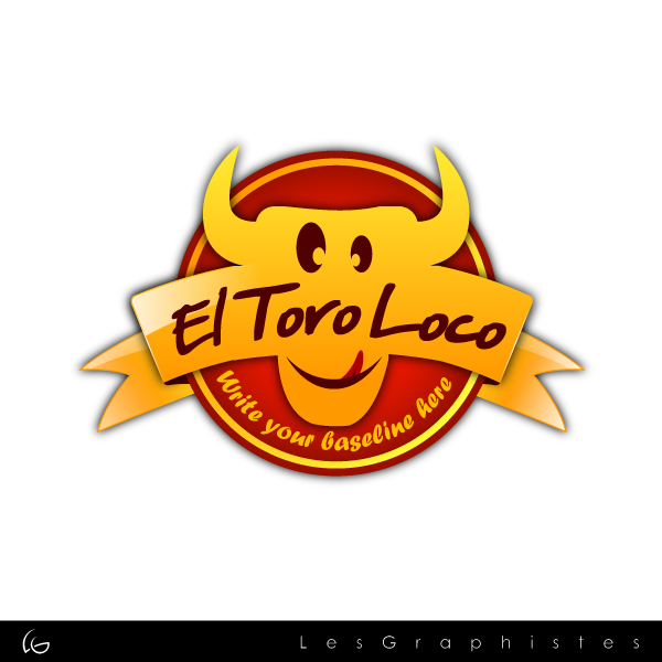 Logo Design by Les-Graphistes - Entry No. 6 in the Logo Design Contest EL TORO LOCO.